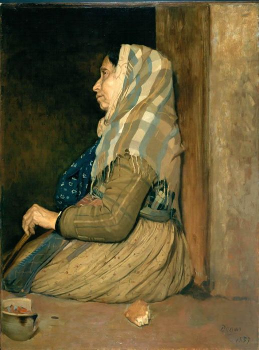 Degas_Edgar-A_Roman_Beggar_Woman