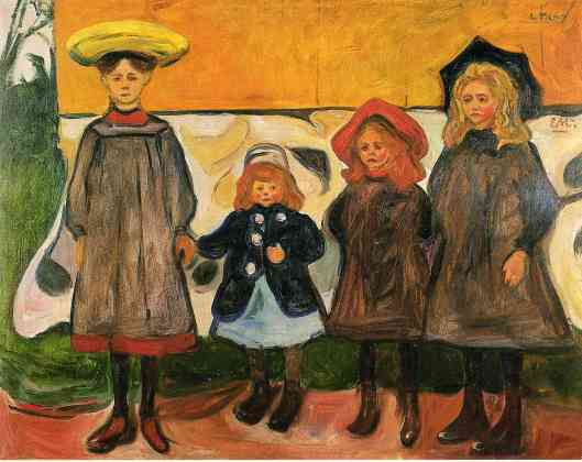 Munch - four-girls-in-arsgardstrand-1903