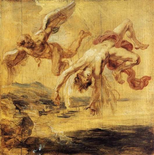 Rubens - A queda de Ícaro 1636