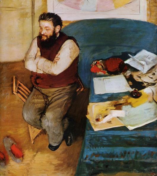 Degas - Diego Martelli 1879