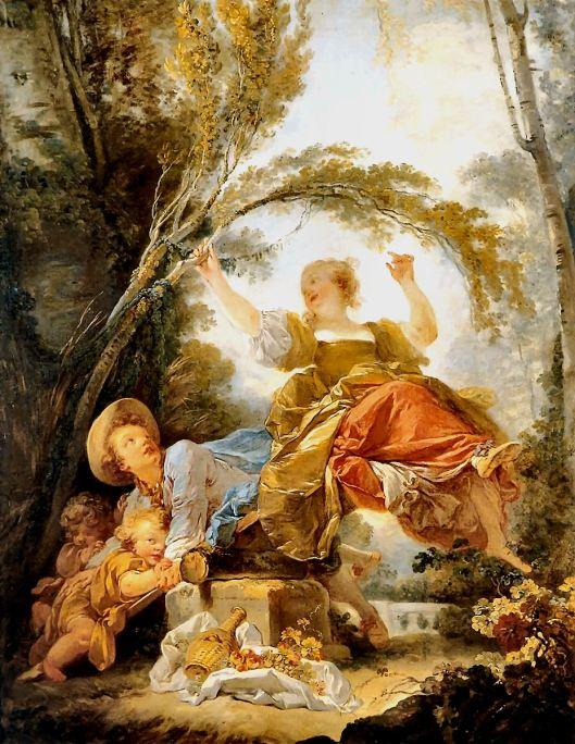 Fragonard - O Balouço I