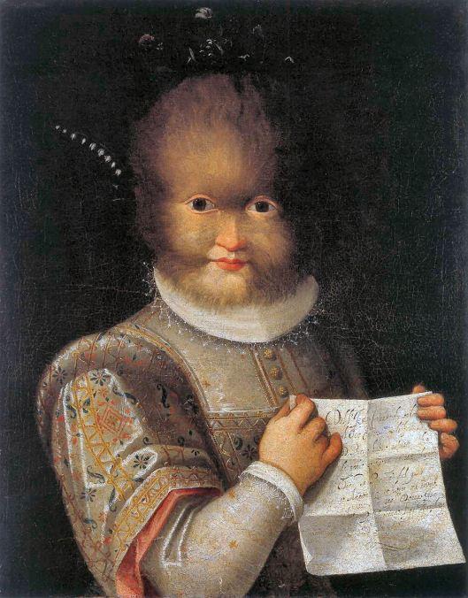 Lavinia FONTANA - Retrato de Antonietta Gonzalez
