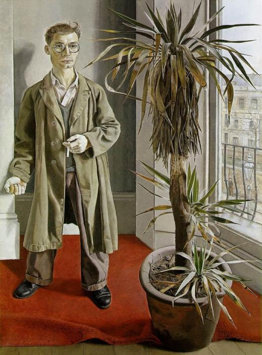 Lucian Freud Interior in Paddington 1951