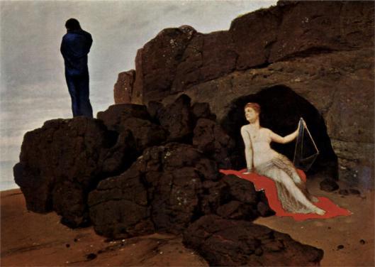 Arnold Böcklin - Ulisses e Calypso