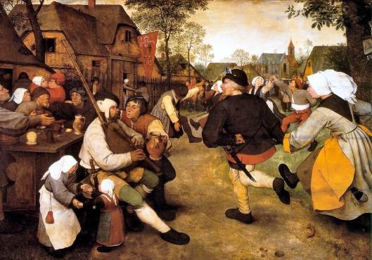 Bruegel - danças camponesasA