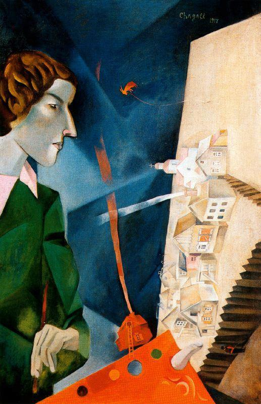 Chagall_Marc-Self-Portrait_with_Palette 1917