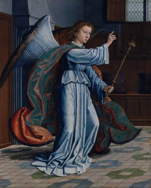 DAVID, Gerard - Anunciação 1506