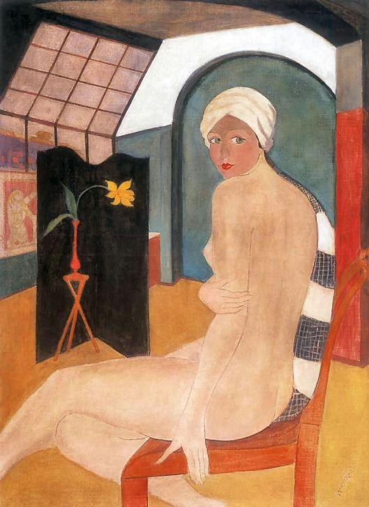 Geza Voros - Nu no estúdio 1930