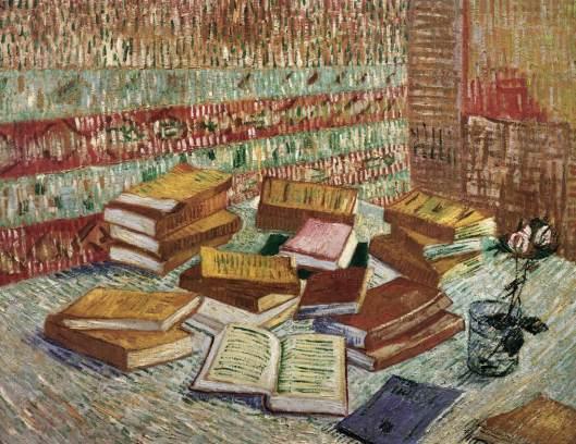 Novelas francesas e uma rosa 1887