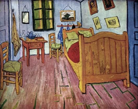 Quarto de Van Gogh em Arles 1888