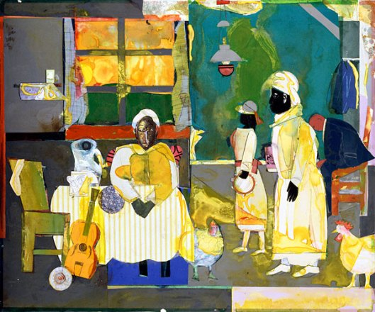 Romare Bearden Gospel-Morning 1987