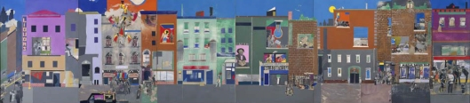 Romare Bearden The Block