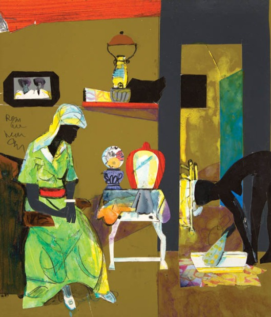 Romare Beardwn EVENING 1985