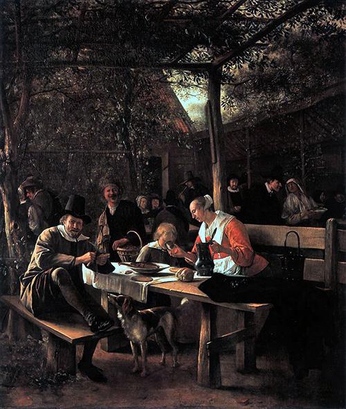 Tavern Garden 1660 A1