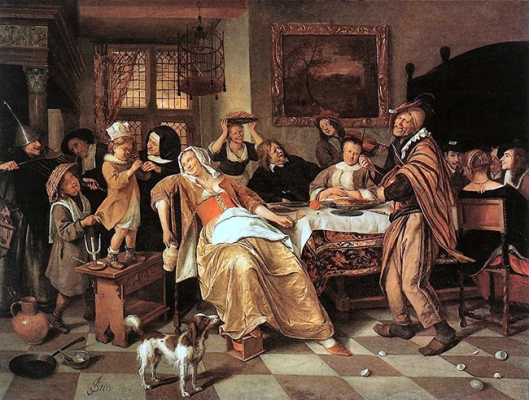 The Bean Feast 1668 A1