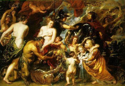 Rubens - Alegoria às bençãos da paz