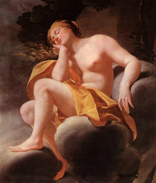 Simon Vouet - Venus adormecida