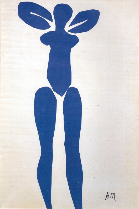 Standing Blue Nude  1952
