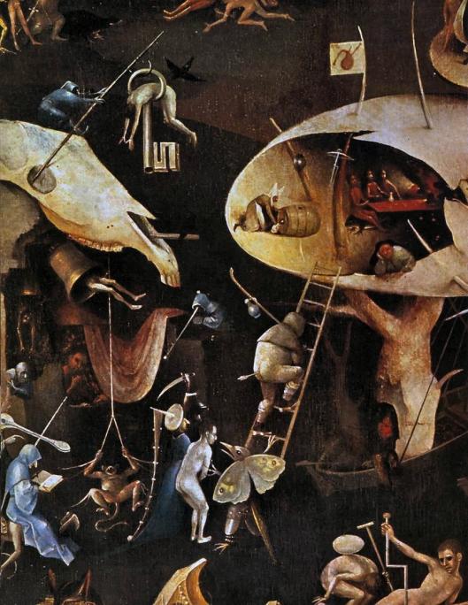 Bosch - Jardim das Delicias (fragmento)
