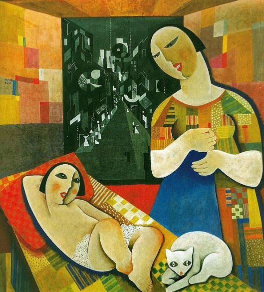 Kadar_Bela-Mother_with_his_child