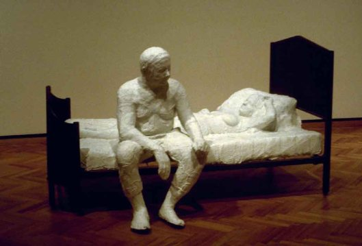 Segal George (1924-2000) couple on a bed