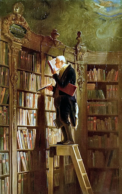 Carl Spitzweg BookwormA1croped