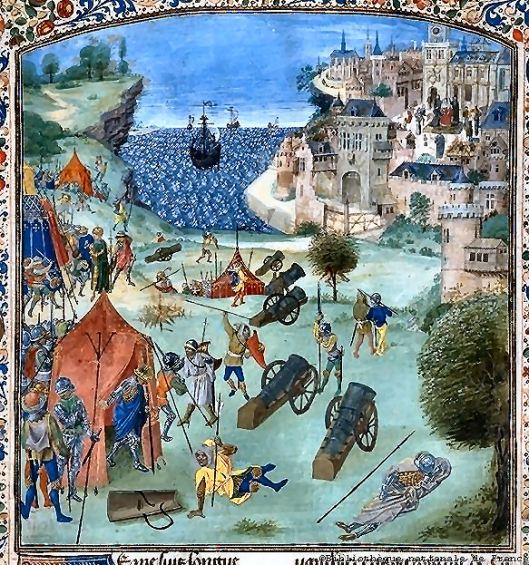 Jean Froissart - cerco lisboa em 1384