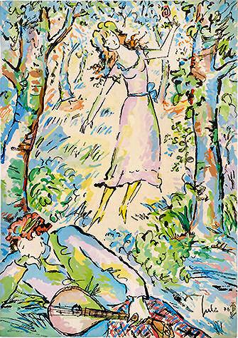 julio - A menina e o poeta
