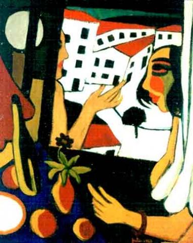 Julio - À janela 1923