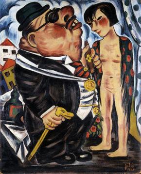 Julio - O burguês e a menina 1931