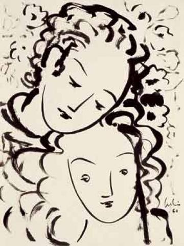 Julio - Serie poeta tinta da china 1960