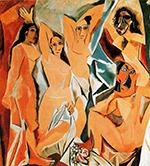 Les Demoiselles d'Avignon - 1907-19 150px