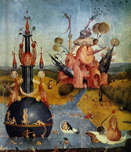 Triptych of Garden of Earthly Delights (central panel) det2