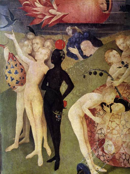 Triptych of Garden of Earthly Delights (central panel) det7