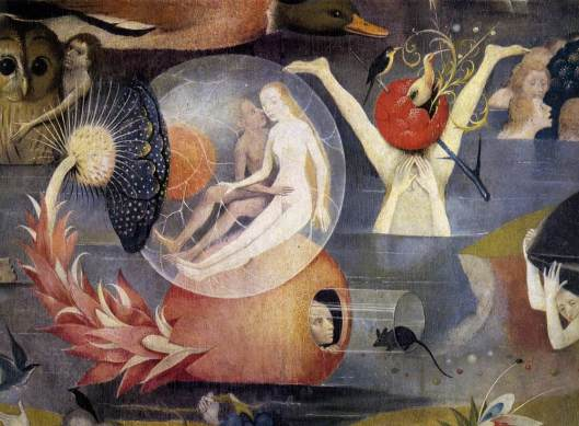 Triptych of Garden of Earthly Delights (central panel) det9