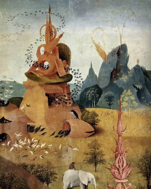 Triptych of Garden of Earthly Delights (left wing) det4