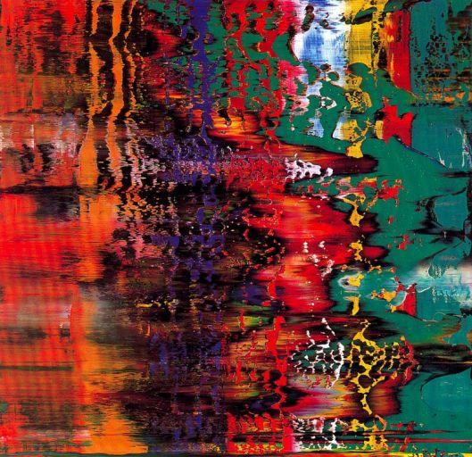 Gerhard Richter Abstracção 1991
