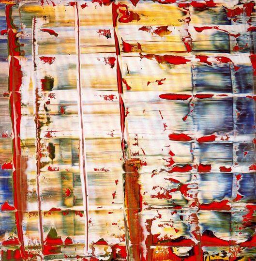 Gerhard Richter Abstracção 1992