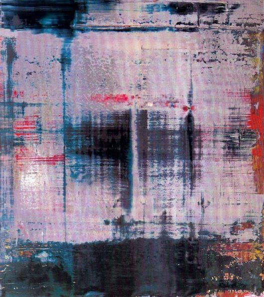 Gerhard Richter Abstracção 1995