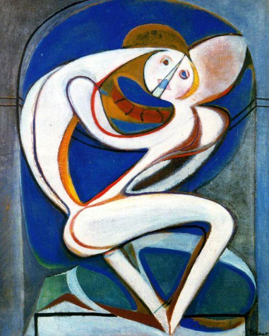 Arpad Sczenes - A alcova 1935