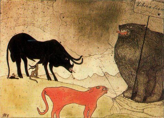 Paul Klee - O concerto dos partidos 1907