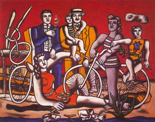 Os prazeres do écio sobre fundo vermelho 1949
