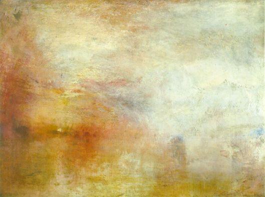 Turner sun-setting
