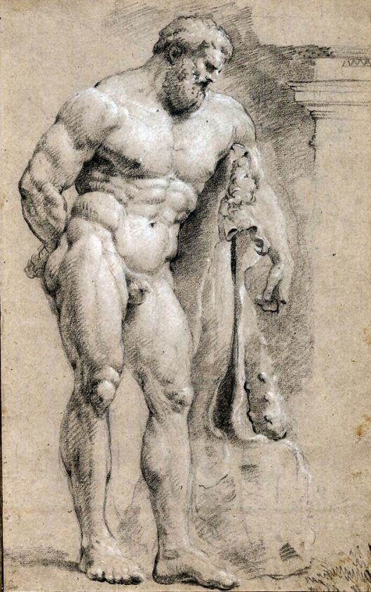 Anónimo - atribuido a Rubens - Hercules FarneseA
