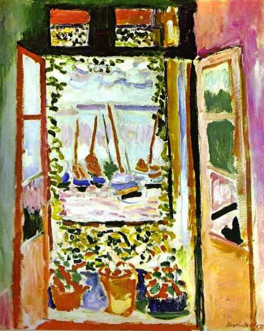 Matisse - janela 1