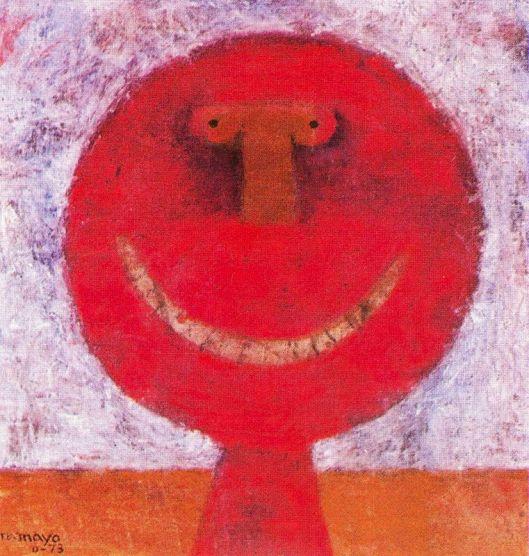 Tamayo Rufino - Cabeça que sorri 1973