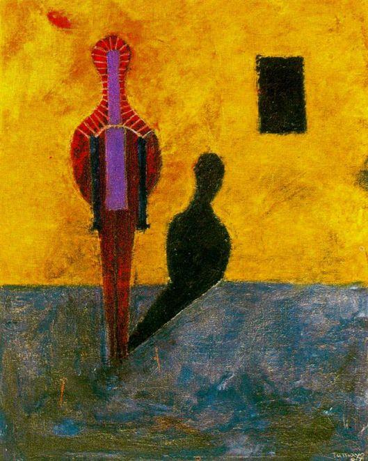 Tamayo Rufino - Homem e a sua sombra 1971