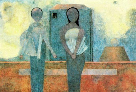 Tamayo Rufino - Homem e mulher 1981