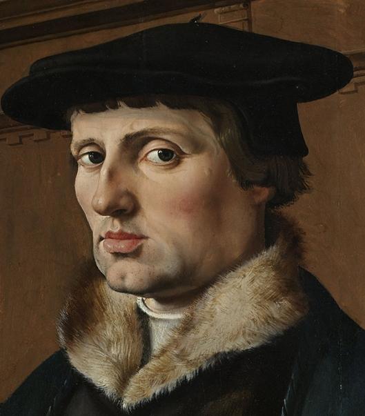 Maarten van Heemskerck (1498–1574) - Portraits of a Couple, possibly Pieter Gerritsz Bicker and Anna Codde 1529 A 600