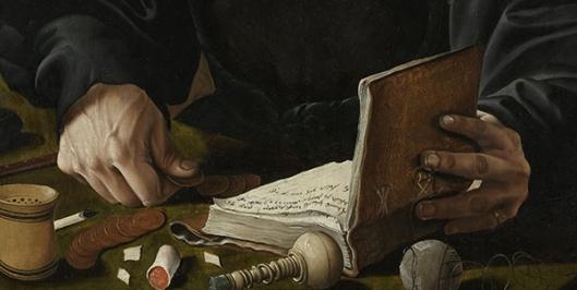 Maarten van Heemskerck (1498–1574) - Portraits of a Couple, possibly Pieter Gerritsz Bicker and Anna Codde 1529 B600